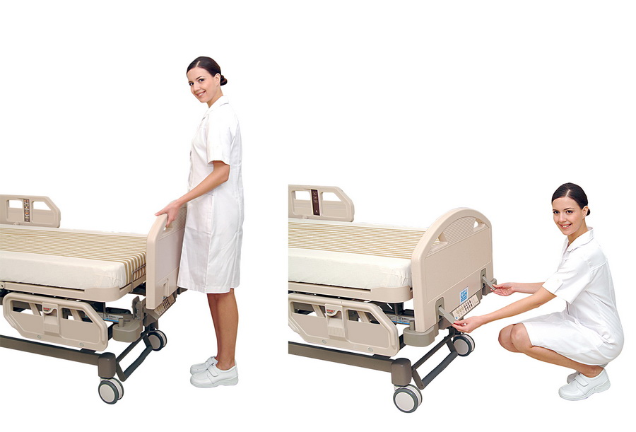 <h1>Romovable ABS Head & Foot Board</h1><p>Clippers are designed to operate easily for first aid and other emergent medical operations.</p>