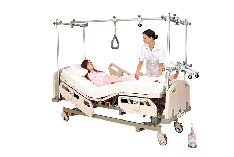 <h1>Orthopedics Electric Bed</h1><p>Over Head Traction Frame</p>