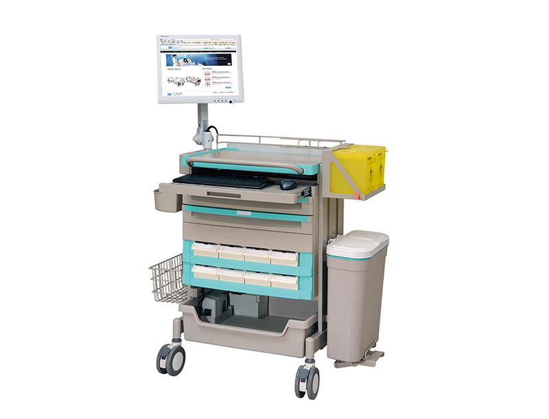<h1>E-Clinical Cart (E-Clinical Cart with Panel PC)</h1><p></p>