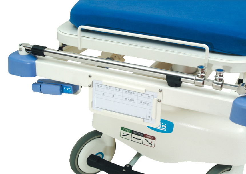 <h1>Name Card Holder (Optional)</h1><p>Located at the foot-end of the bed. Easy to place and replace patient's  name cards.</p>