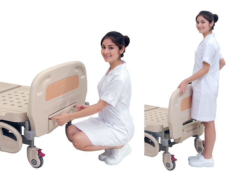 <h1>Removable ABS Head & Foot Board</h1><p>● Mold-injection ABS board with curving top in different laminate colors.